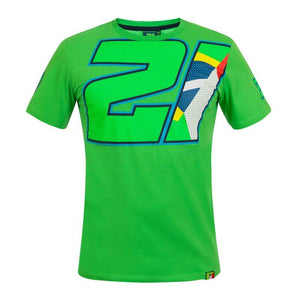 Franco Morbidelli 21 Green Flag T-shirt Official 2021