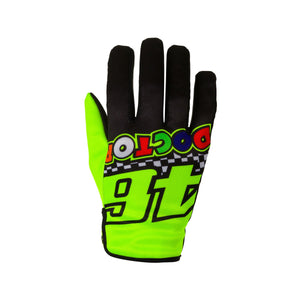 Valentino Rossi Gloves VR46 MotoGP The Doctor Race Official 2020
