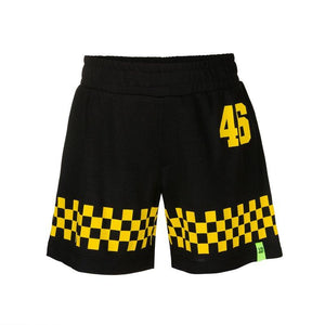 Valentino Rossi VR46 Kids Dottorone Bermuda Shorts MotoGP Official 2020 - allstarsdirect