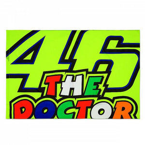 Valentino Rossi VR46 Moto GP The Doctor Flag Official 2019 - allstarsdirect