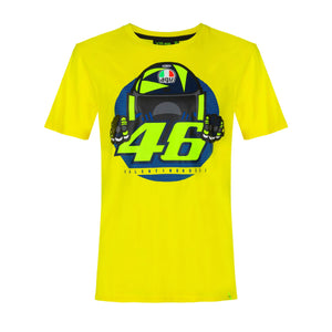 Valentino Rossi T-shirt VR46 MotoGP Cupolino Yellow Official 2020 - allstarsdirect