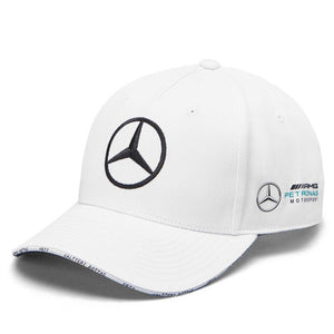 Valtteri Bottas Cap Mercedes AMG Petronas F1 Driver White Official New UK STOCK