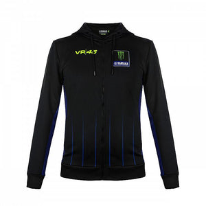 Valentino Rossi VR46 Moto GP M1 Power Line Yamaha Hoodie Official 2020 - allstarsdirect