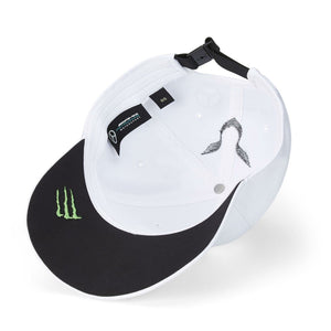 Mercedes AMG Petronas F1 Lewis Hamilton Kids 44 Cap White Official 2020 - allstarsdirect