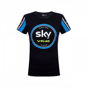 Valentino Rossi VR46 Sky Racing Moto3 GP Women's T-shirt Official - allstarsdirect