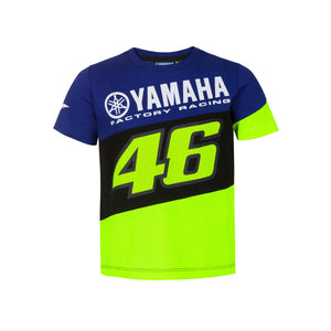 Valentino Rossi Junior T-Shirt VR46 MotoGP M1 Yamaha Official 2020 - allstarsdirect