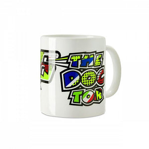Valentino Rossi VR46 Moto GP Pop Art White Mug Official 2019