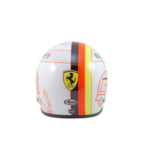 Bell Mini 1:2 Helmet Replica Ferrari Sebastian Vettel 5 New - allstarsdirect
