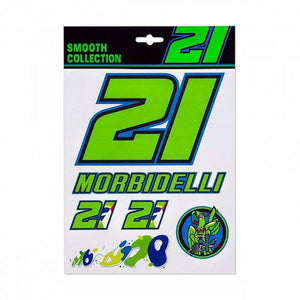 Franco Morbidelli 21 Stickers Official 2021