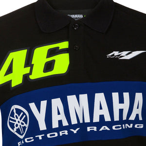 Valentino Rossi  Polo Shirt VR46 MotoGP M1 Power Line Logo Yamaha Official 2020 - allstarsdirect
