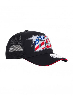 Nicky Hayden 69 Trucker Baseball Cap Black MotoGP Official 2020 - allstarsdirect