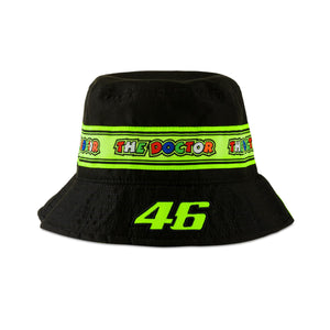 Valentino Rossi  Bucket Hat VR46 MotoGP Tapes The Doctor Official 2020 - allstarsdirect