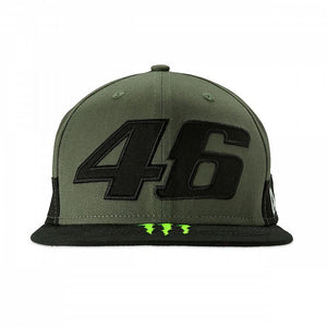 Valentino Rossi Flat Peak Cap VR46 Moto GP Monster Camp Edition Official 2019 - allstarsdirect