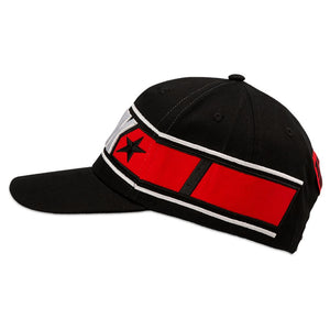 Maverick Vinales Baseball Cap 12 Moto GP Logo Panel Black Official 2019