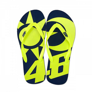 Valentino Rossi VR46 Moto GP Sun & Moon Blue Sandals Official 2019 - allstarsdirect