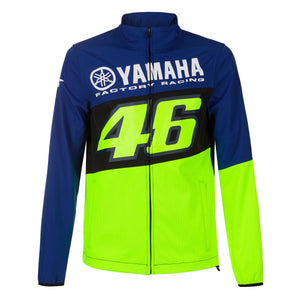 Valentino Rossi Softshell Jacket VR46 MotoGP M1 Yamaha Racing Official 2020 - allstarsdirect