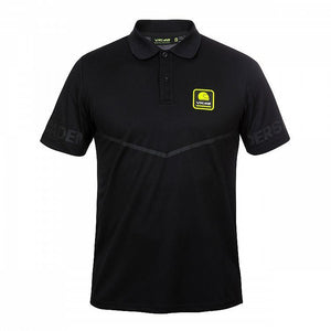 Valentino Rossi VR46 Moto GP Riders Academy Logo Polo Shirt Black Official 2019 - allstarsdirect
