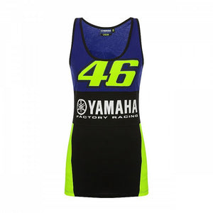 Valentino Rossi VR46 MotoGP M1 Yamaha Racing Team Women's Tank Top Official - allstarsdirect