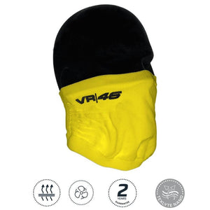 Valentino Rossi Winter Face Mask VR46 Logo Yellow Motogp Official 2021