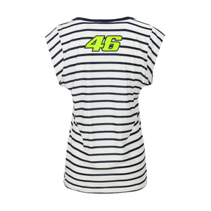 Valentino Rossi Womens T-shirt VR46 MotoGP Street Art The Doctor Official 2020 - allstarsdirect