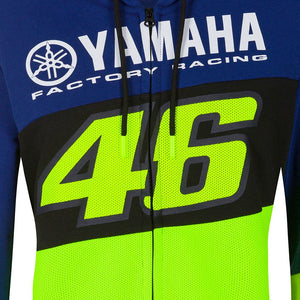Valentino Rossi VR46 Womens Hoodie MotoGP M1 Yamaha Racing Team Official 2020 - allstarsdirect