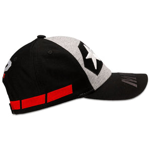 Maverick Vinales Kids Baseball Cap 12 Moto GP Logo Black Official - allstarsdirect