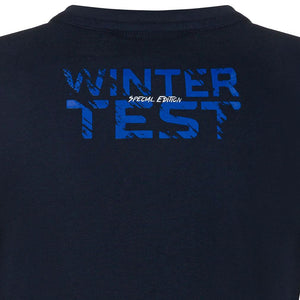 Valentino Rossi Womens Blue T-shirt  VR46 MotoGP Winter Test Official 2020