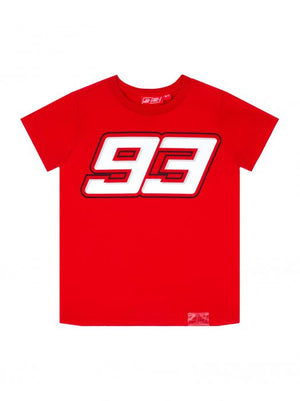 Marc Marquez Kids T-shirt 93 Red MotoGP Official 2020 - allstarsdirect