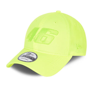 Valentino Rossi New Era 9Forty Core Yellow Cap VR46 Official 2021