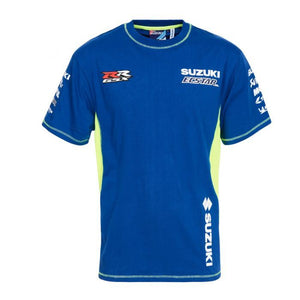 Suzuki T-shirt  MotoGP Team Ecstar Official Teamwear Custom Blue