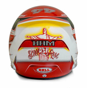 Bell Mini 1:2 Helmet Replica Mercedes Lewis Hamilton 44 World Champion New - allstarsdirect