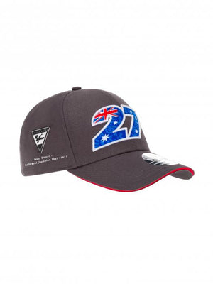 Casey Stoner 27 Baseball Cap World Champion 2007-2011 MotoGP Official 2020 - allstarsdirect