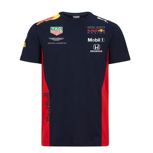 Aston Martin Team T-shirt Red Bull Racing F1 Puma Official 2020 - allstarsdirect
