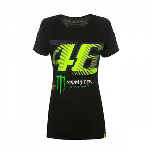 Valentino Rossi VR46 Moto GP Monster Energy Monza Women's T-shirt Official - allstarsdirect