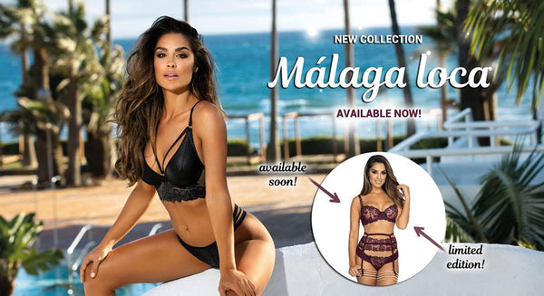 Málaga Loca Lingerie collection by Axami lingerie Poland
