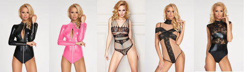 Sexy lingerie bodies by 7 th Heaven lingerie bodies
