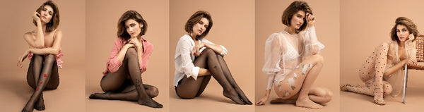 Tights by Fiore Hosiery