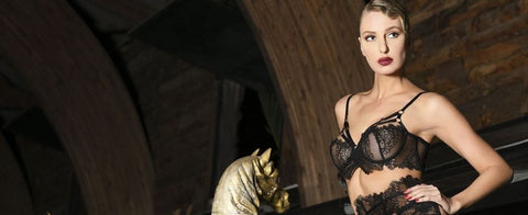 Rebelle lingerie Collection handmade in France by Patrice Catanzaro