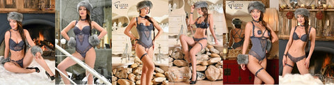 Chapka lingerie collection made in France by Luxxa lingerie