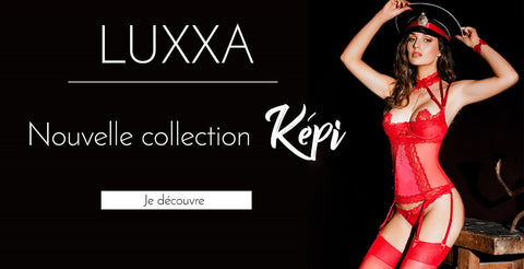 Képi lingerie collection made in France by Luxxa lingerie