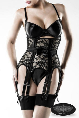 Vintage Bra and Corset Set