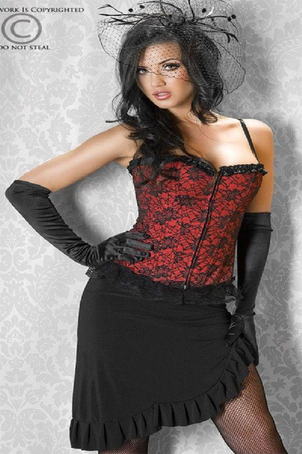 Red fashion corset