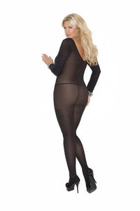 Long Sleeve Opaque Body stocking