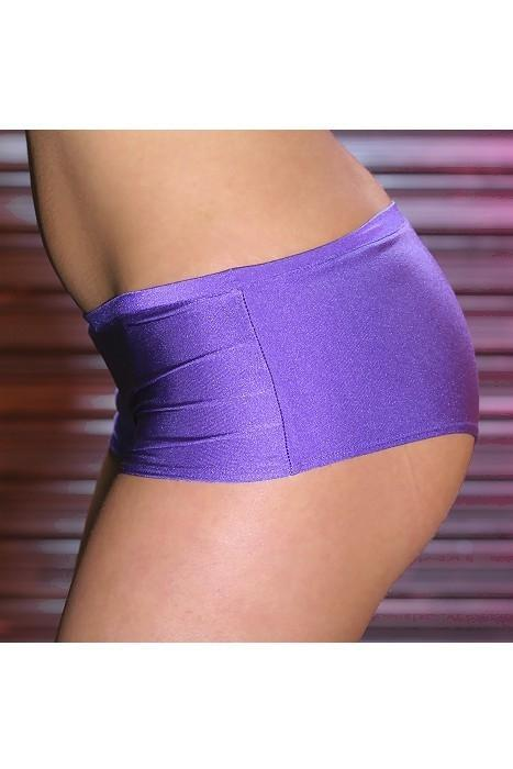 Purple ladies boy shorts