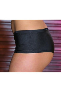 Black Ladies Boy Shorts