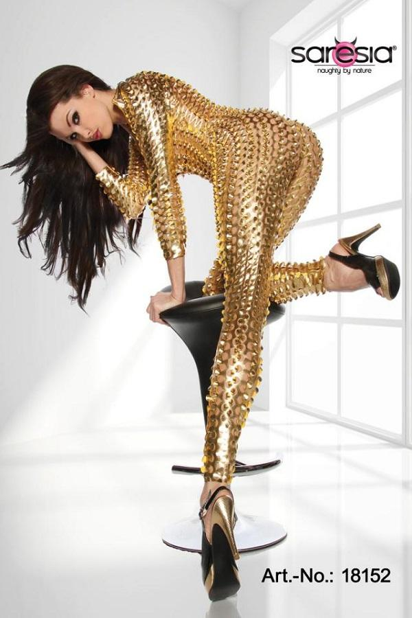 Gold Cat-Suit 18152