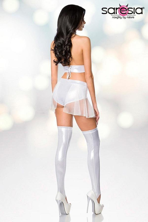 White Dancewear Set 18201