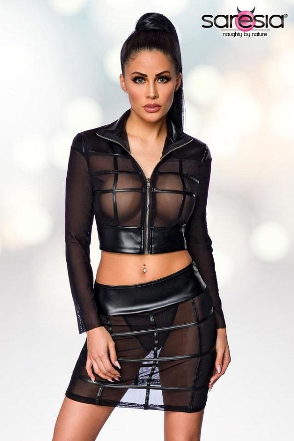 Jacket and Skirt Set