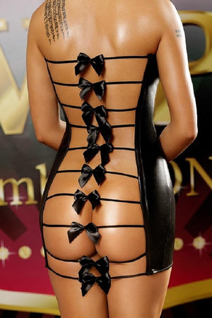 Backless Erotic Dress