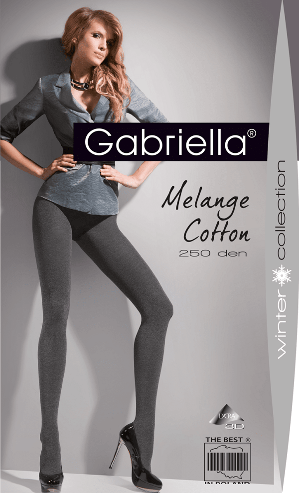 250 Denier cotton tights